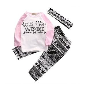 Other - Boutique three piece girl's outfit 3-4, 2-3 yr